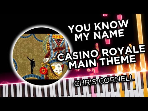 Casino Royale Main Theme (You Know My Name) - Piano Tutorial