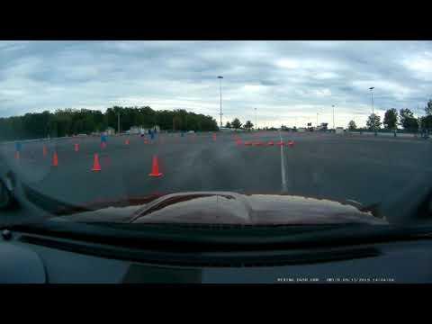 2008 Miata Autox .9 mile long course. - dirt track racing video image