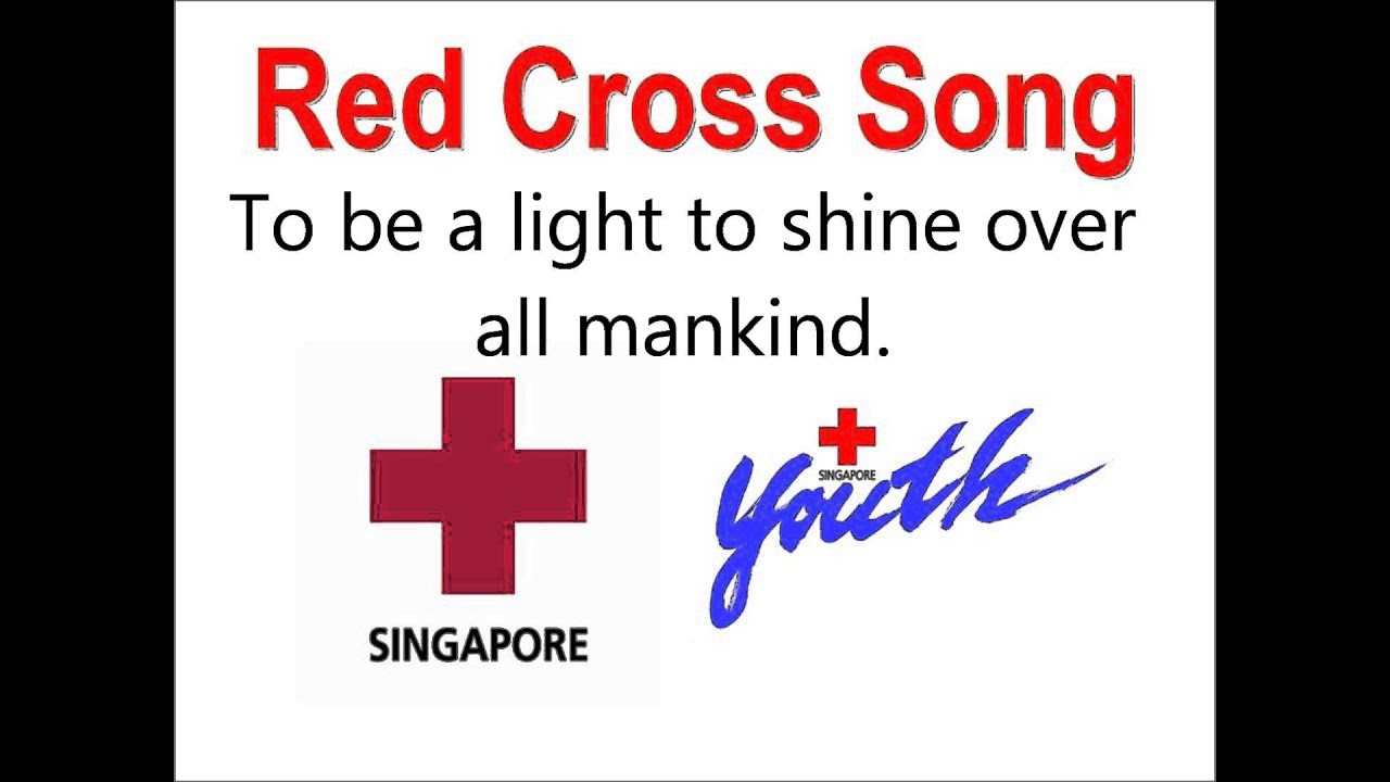 Red Cross Song (With Lyrics) - YouTube