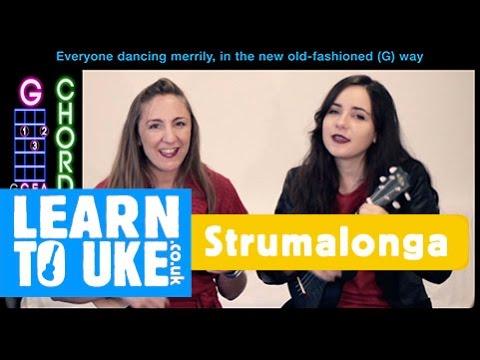 Rockin Around The Christmas Tree - Ukulele Play Along Video ft Sira Pocovi