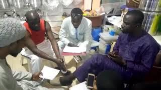 Repetition Fallou Thies et Pape Ndiaye Ngom pour l'arrivée du Général Kara à Thies le 24/12/2018