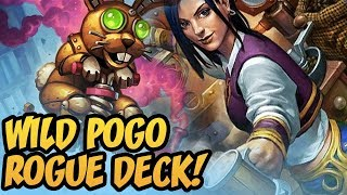 Wild POGO ROGUE DECK! | Rise Of Shadows | Hearthstone