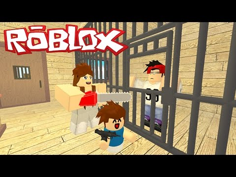 PRISON ESCAPE FROM THE WORLD'S MOST FUN and HARD! - Roblox