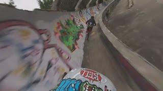 【360°VR動画】 老朽化したオリンピックコースを自転車で滑走 REUTERS