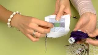 Эксперимент: Прозрачный бисер и цветные нитки - альтернатива цветному бисеру или нет?