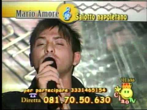Rosario Denny Scurdammece Di Nino D'Angelo..Al Salotto Napoletano..Ciao Tv By Domy NapoletanoDok