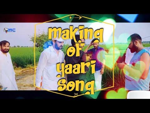 Making Of  Yaari। यारी ।Prakash Gandhi | Komal Soni | Latest Haryanvi -Rajasthani Song 2018