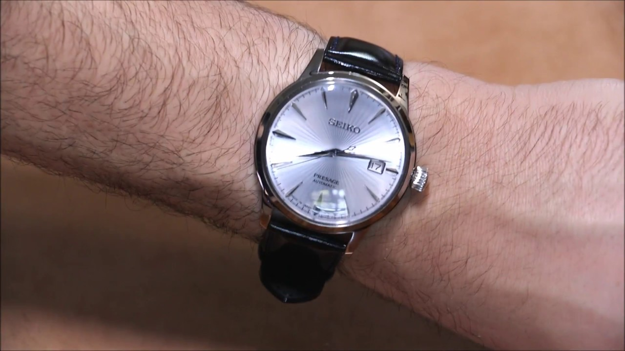 Seiko Presage Automatic SRPB43 Watch Review | aBlogtoWatch