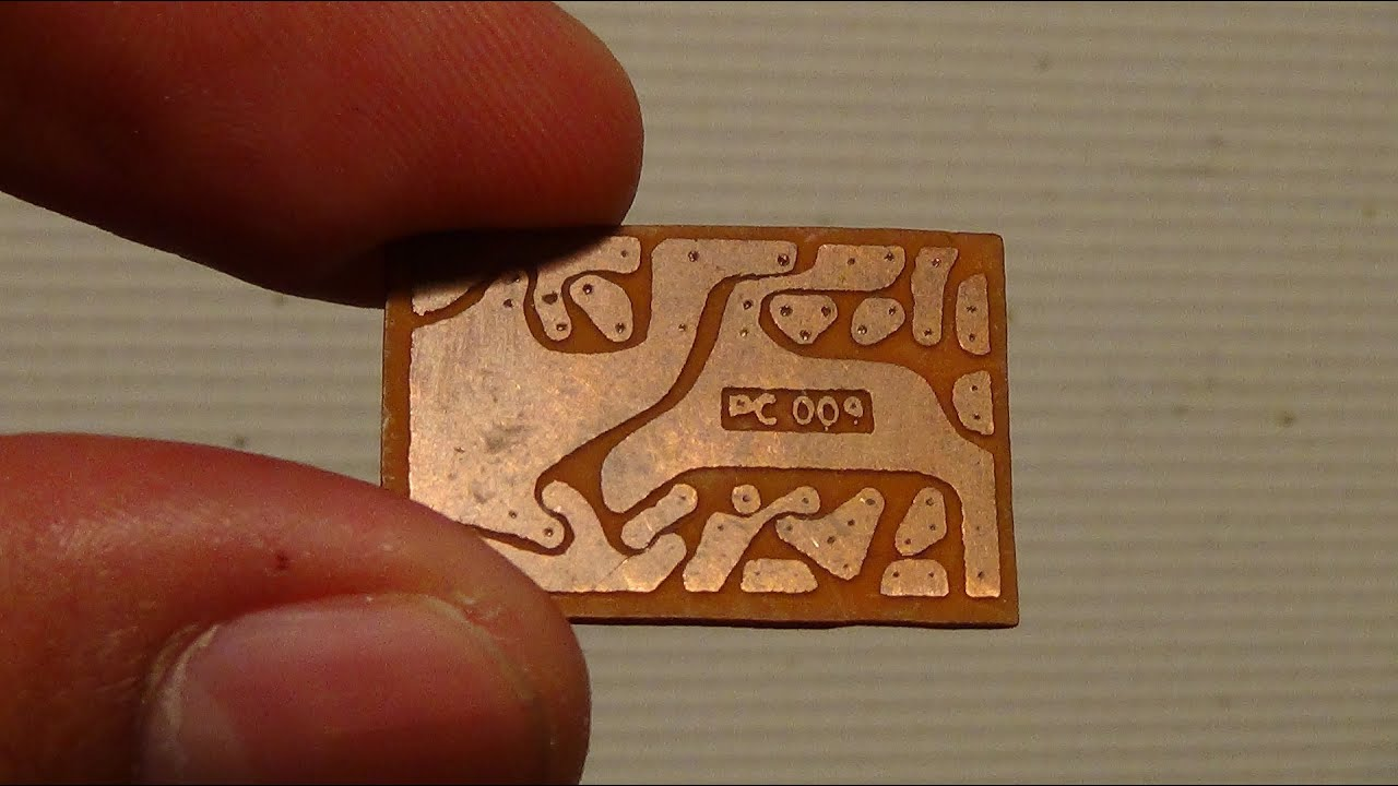 How To Make Pcb Using Marker Pen Printed Circuit Board Youtube Repairs Any General Industrial