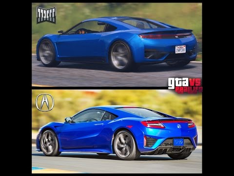 GTA VS REAL LIFE CARS AND PLACES (HD)