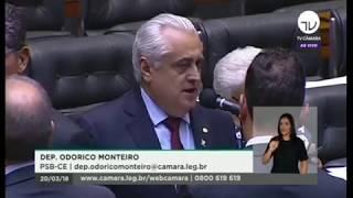 Deputado Odorico relata os investimentos do governador Camilo Santana