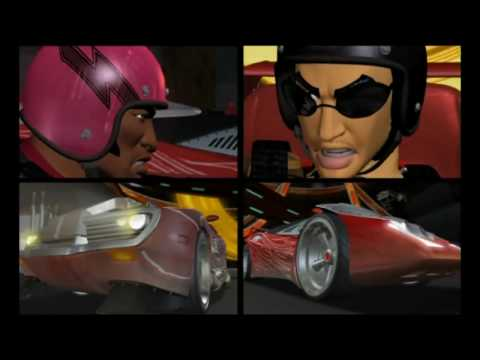 Hot Wheels AcceleRacers (Cashis Clay & Kelly Lee McCartney - Accelorate)