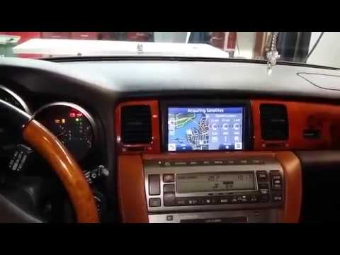 Updated GPS and backup camera for 2002 Lexus SC 430 using ...