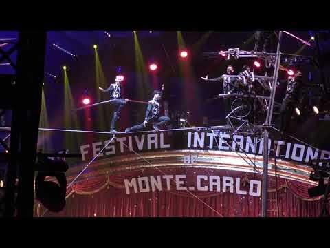 Troupe GERLINGS Clowns de Bronze/Bronze Clown Monte Carlo 2017 4K