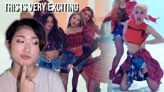kpop react video