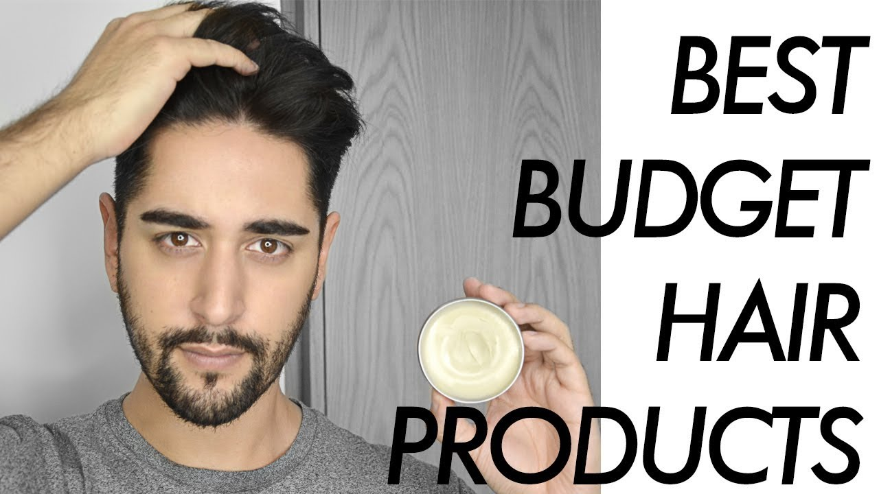Best Budget Hair Styling Products For Men 2017 - Drugstore Grooming ✖ James  Welsh