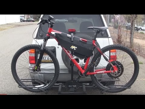 Electric Bike Hollywood Car Rack And How To Lock Your Bike