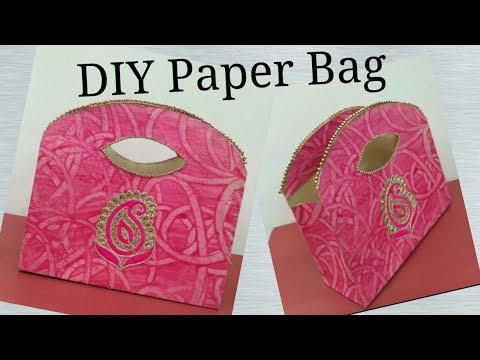 DIY Paper Bag || Paper Craft || Gift Bag ||