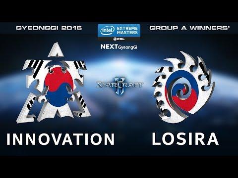 StarCraft 2 - INnoVation vs. Losira [TvZ] - Group A Winners Match - IEM Gyeonggi 2016