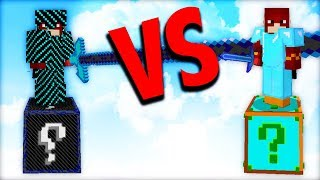 LUCKY BLOCK ELECTRO vs LUCKY BLOCK más CHETADOS de MINECRAFT MODS | DAGAR64