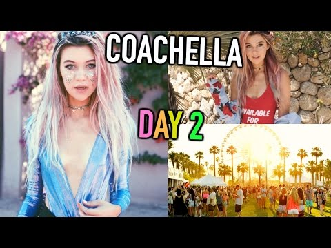 Coachella Day 2 Vlog: Outfits, Lady Gaga, and More