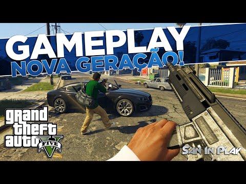 GTA V: Gameplay da Nova Geração + Todas Novidades Reveladas Pela IGN!