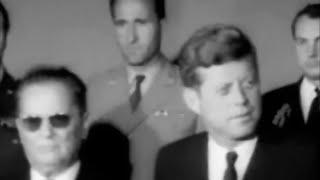 October 17, 1963 - President John F. Kennedy meeting President Josip Broz Tito of Yugoslavia