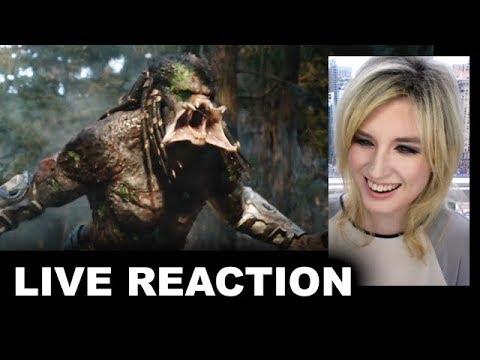 The Predator Final Trailer REACTION