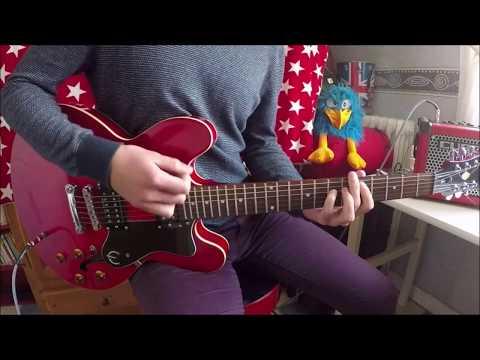 Sugarcult - Los Angeles - Guitar cover