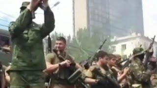 Кто прислал кавказцев в Донецк? - BBC Russian