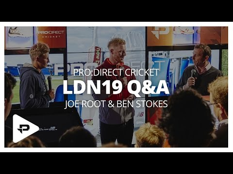 Joe Root & Ben Stokes Q&A @ Pro:Direct Carnaby