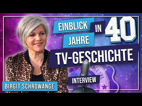 Einblick in 40 Jahre TV-Geschichte - Birgit Schrowange im Interview