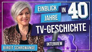Birgit Schrowange Interview über Geld, Angst, Schlüsselmomente, Finanztipps, 40 Jahre TV | EU