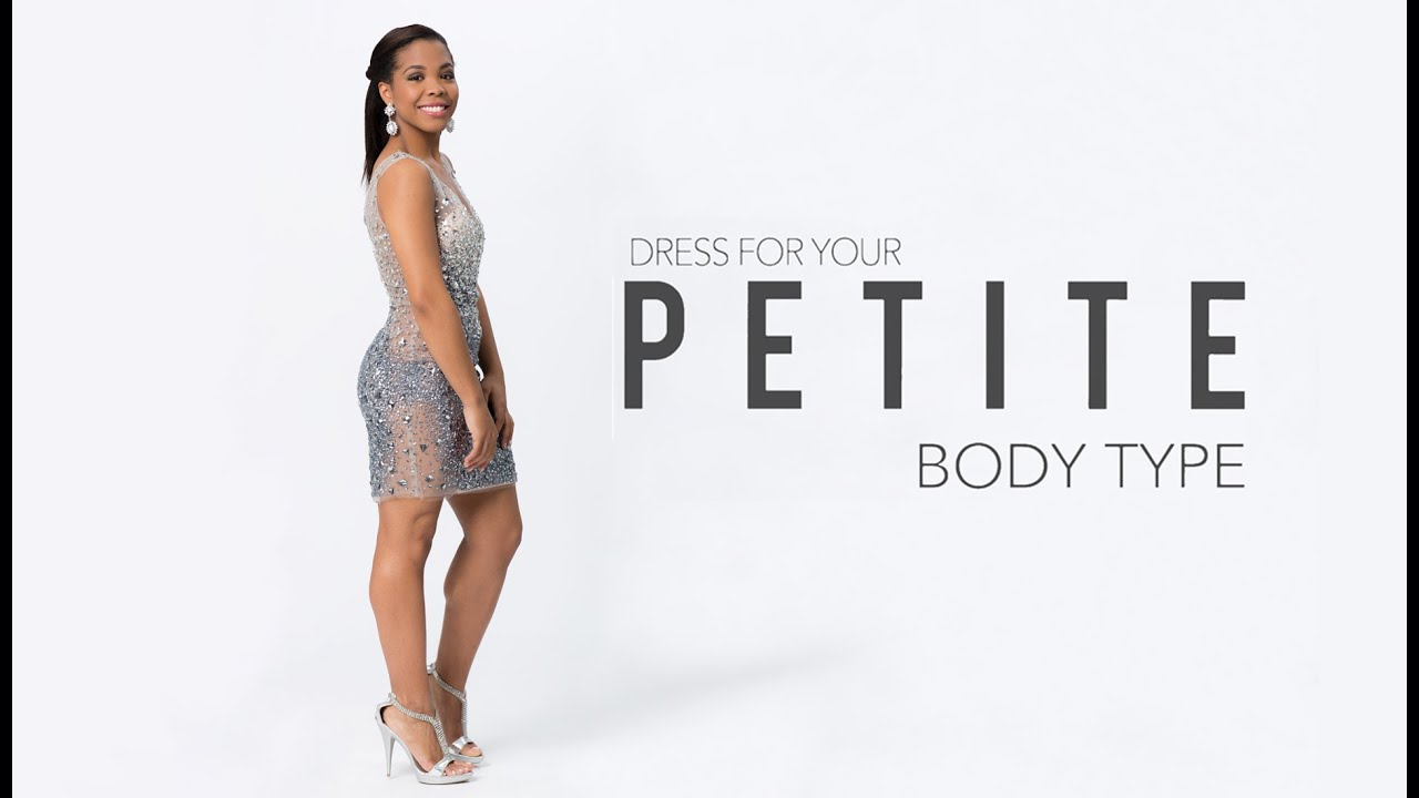 Prom Dresses for a Petite Body Type - YouTube