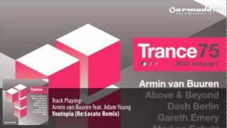 Armin Van Buuren Feat Adam Young Youtopia Re Locate Remix