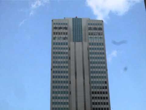 Tokyo earthquake, Japan. Swaying building in Shinjuku 11-03-2011.m4v