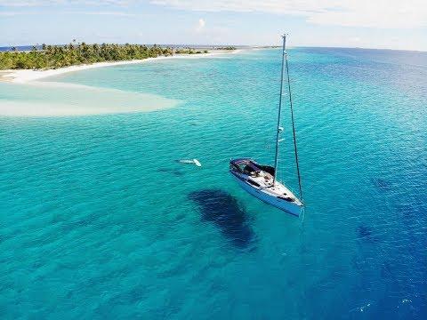 Anchoring In Pristine Atolls Of The Tuamotus, French Polynesia - Sailing L'Attitude - Ep 40