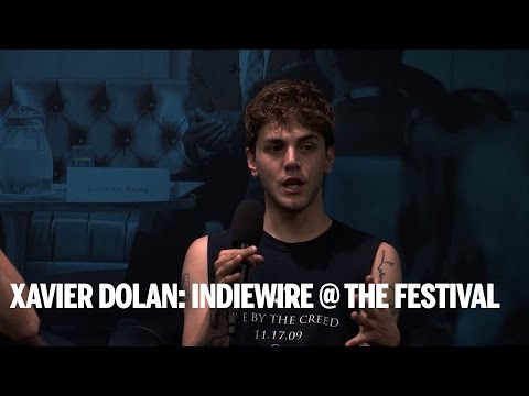 XAVIER DOLAN: INDIEWIRE @ THE FESTIVAL | TIFF Industry 2014
