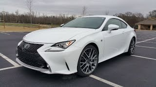 2015 Lexus RC 350 F SPORT Review - Edgy Looks on a Luxury Coupe
