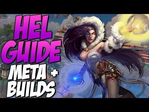 HOW TO PLAY HEL IN DUEL! META STARTS/BUILDS! - GrandMasters Ranked Duel - SMITE