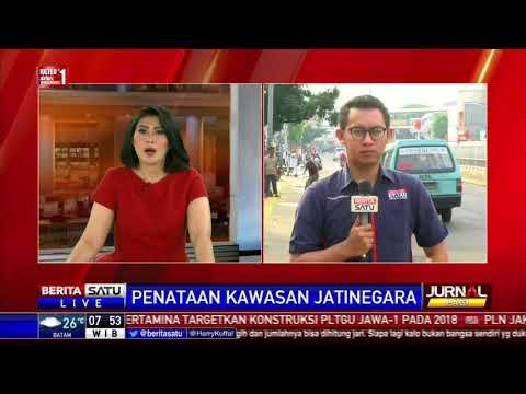 Pemprov DKI Jakarta Menata Trotoar Pasar Jatinegara