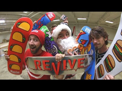 TONS OF NEW REVIVE SKATEBOARDS PRODUCT! ReVive Winter 2017