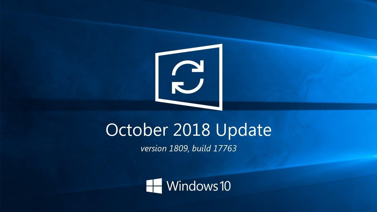 Cumulative update for Windows 10 version 1809 - January 2019