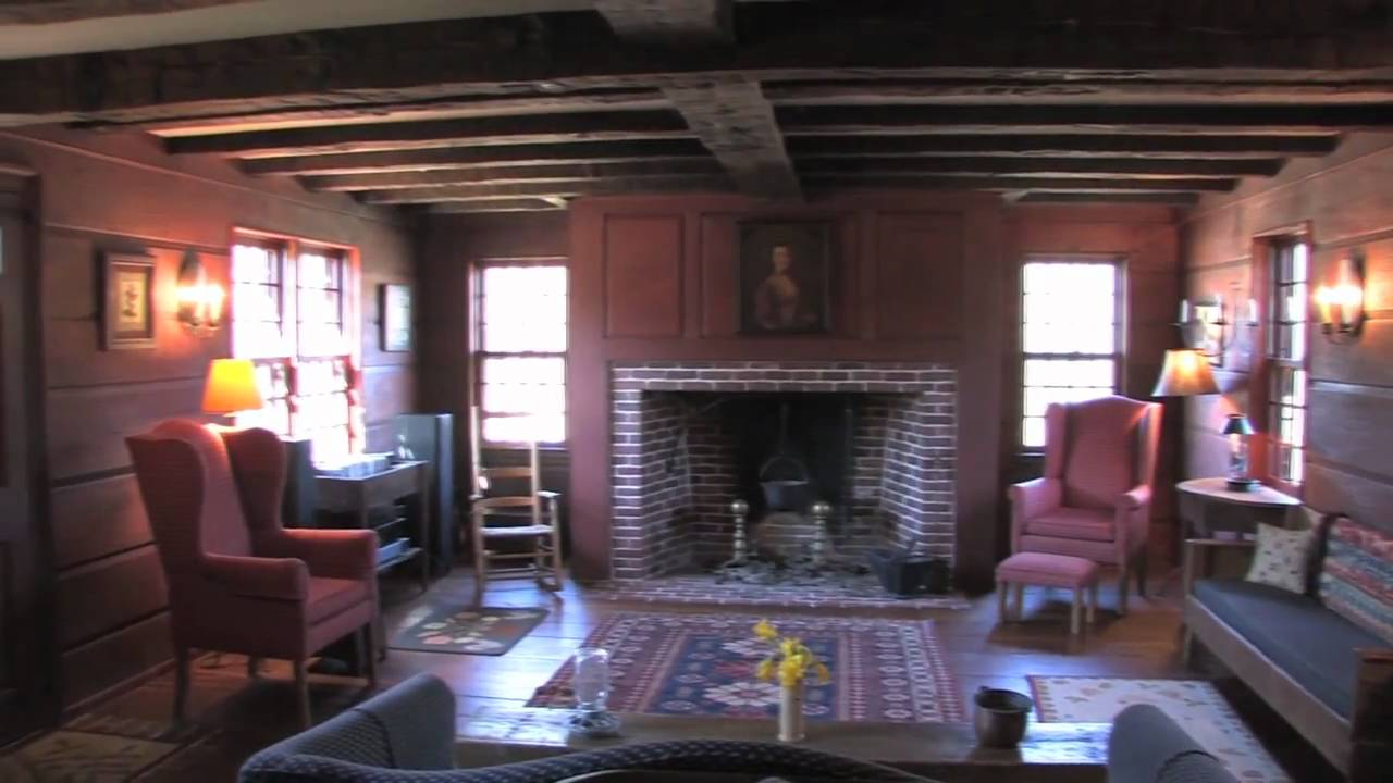 Antique Reproduction Colonial Era Home YouTube