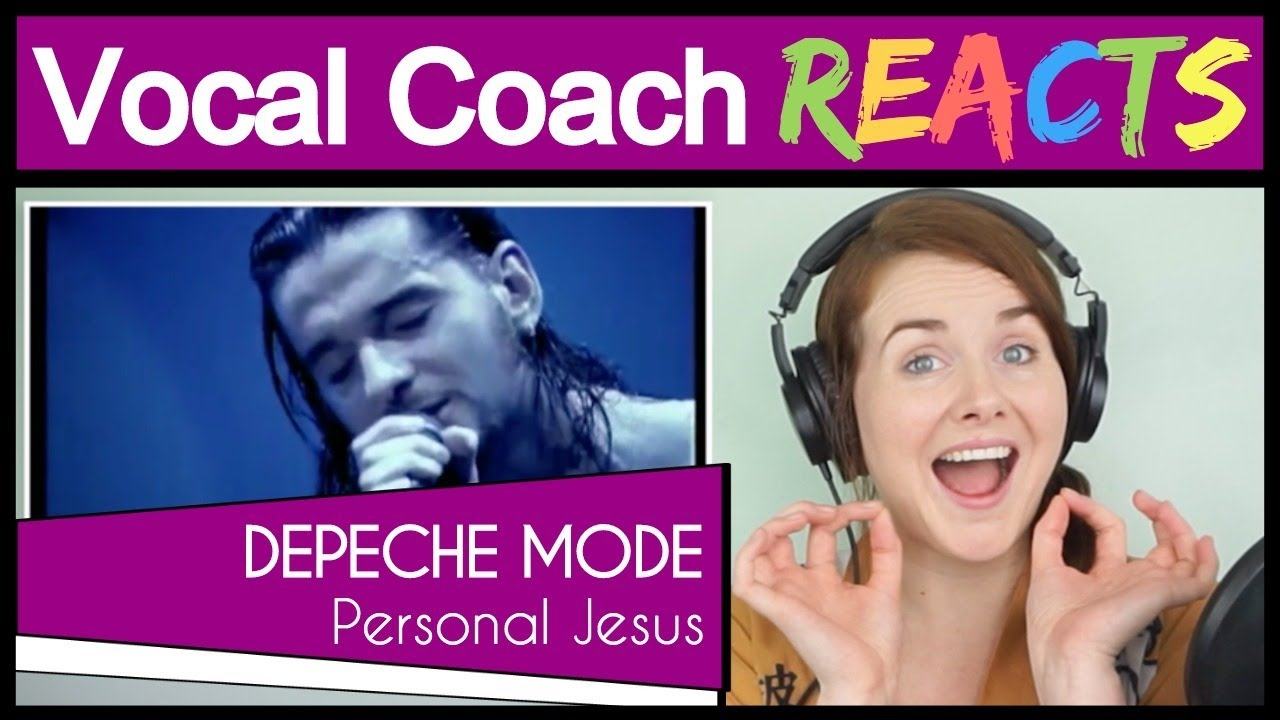 Vocal Coach reacts to Depeche Mode - Personal Jesus (Dave Gahan Live)
