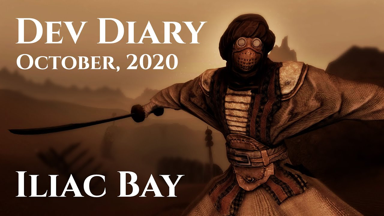 Iliac Bay Developer Diary, October 2020