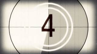 Old Fashioned Film Countdown Timer - Free Stock Video Footage - Download at Videvo.net