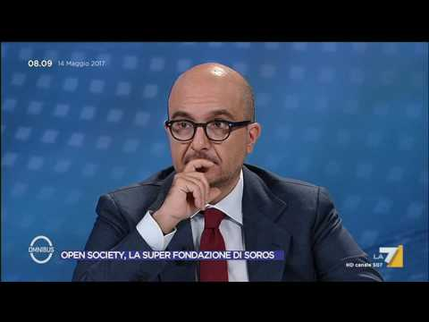 Omnibus - Open Society, la Super Fondazione di Soros (Puntata 14/05/2017)