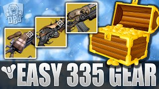 Destiny: Easy 335 High Light Level Exotic Farm Method - How To Get NEW Updated 335 EXOTICS
