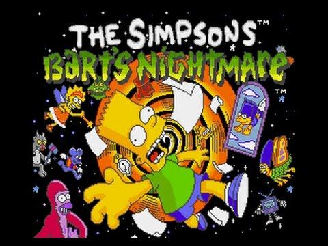 Mega Drive Longplay [433] The Simpsons: Barts Nightmare